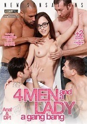 4 Men and a Lady: A Gang Bang 2014