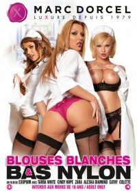 Blouses blanches & bas nylon 2011