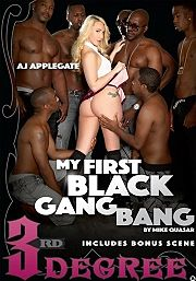Película porno My First Black Gang Bang 2016 XXX Gratis