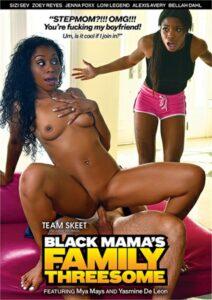 Película porno Black Mama's Family Threesome (2019) XXX Gratis