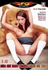 Película porno Mira lo que hago cuando salgo del cole XXX Gratis